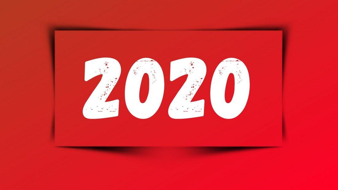 Nápis roku 2020