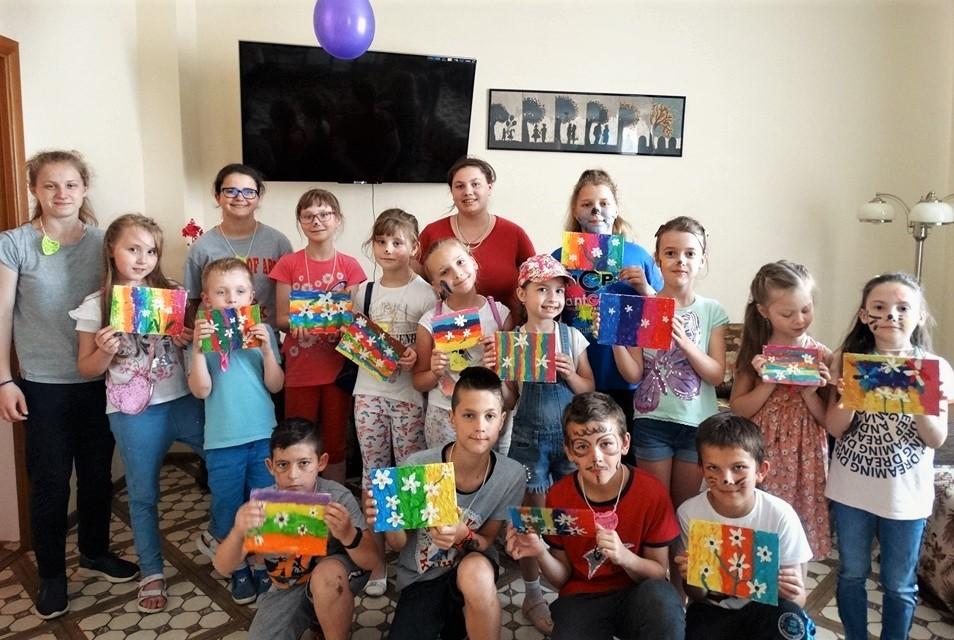 deti s výtvormi