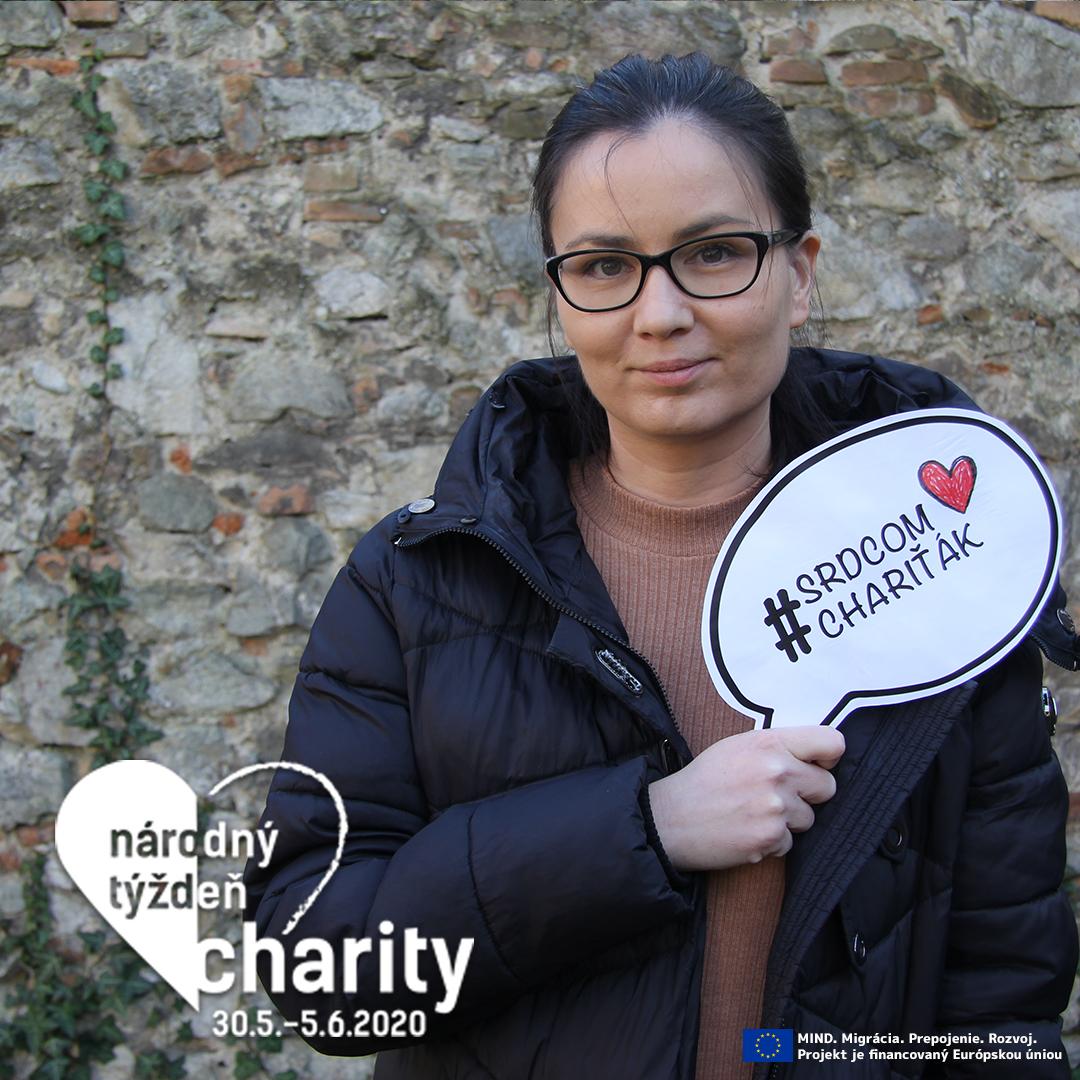 Pripoj sa k týždňu pomoci a buď #SrdcomChariťák!