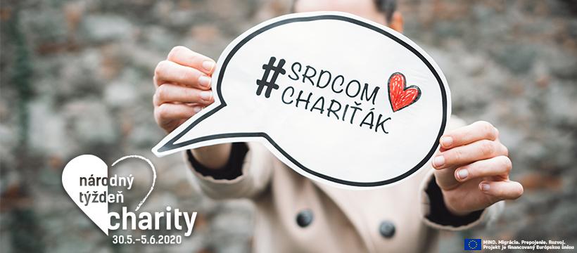 Národný týždeň charity 2020 v znamení pokračujúcej vlny solidarity