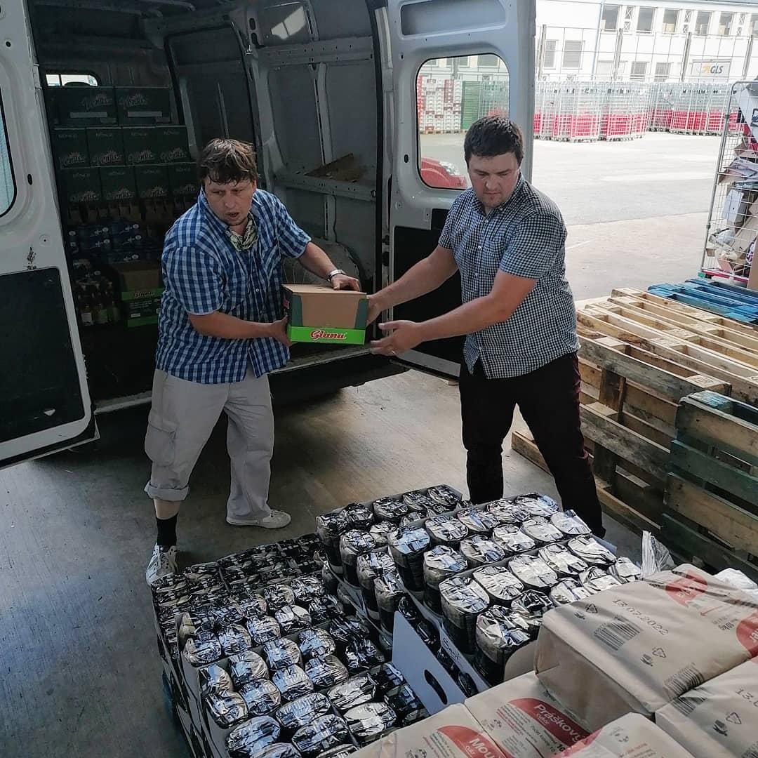 nakladanie potravinovej pomoci