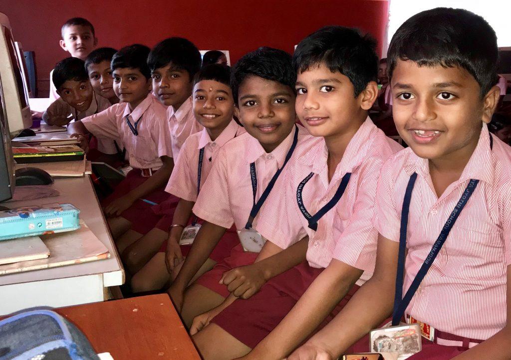 indické deti
