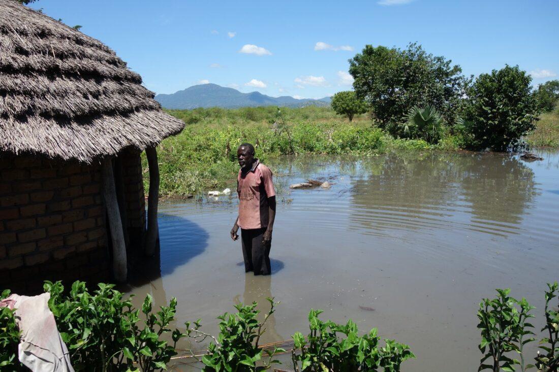 záplavy v ugande